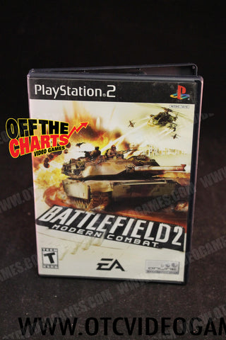 Battlefield 2: Modern Combat Playstation 2 Game Off the Charts