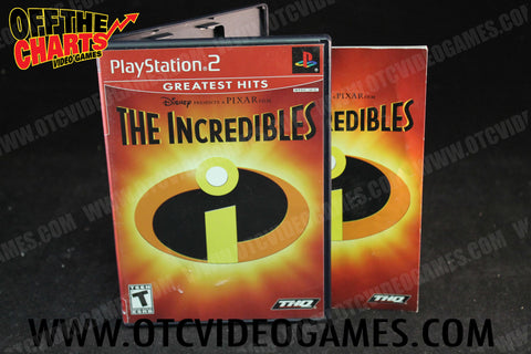 The Incredibles Playstation 2 Game Off the Charts