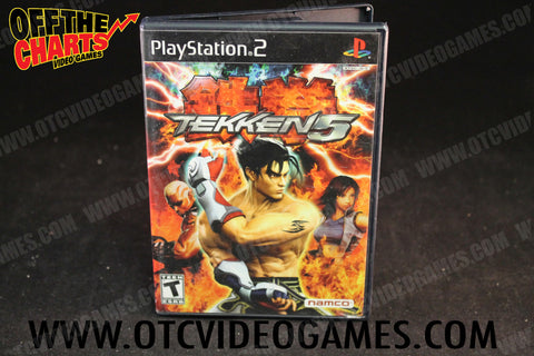 Tekken 5 Playstation 2 Game Off the Charts