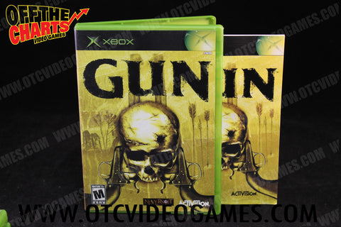 Gun Xbox Game Off the Charts