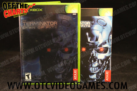The Terminator: Dawn of Fate Xbox Game Off the Charts