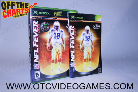 NFL Fever 2004 Xbox Game Off the Charts