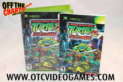 Teenage Mutant Ninja Turtles 2 Battle Nexus - Off the Charts Video Games