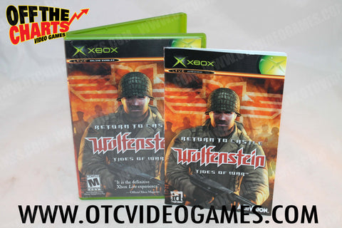 Return To Castle Wolfenstein Tides Of War Xbox Game Off the Charts
