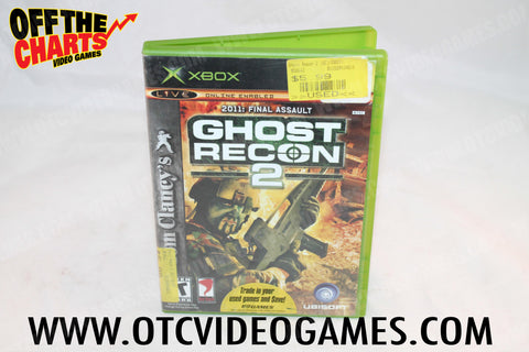 Ghost Recon 2 Xbox Game Off the Charts