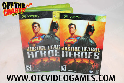 Justice League Heroes - Off the Charts Video Games