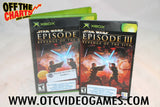 Star Wars Episode III Revenge of the Sith Xbox Game Off the Charts