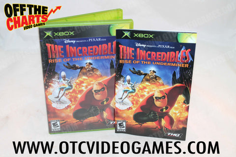 The Incredibles Rise of the Underminers Xbox Game Off the Charts