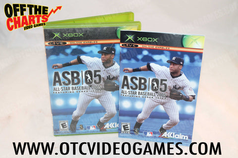 All-Star Baseball 2005 - Off the Charts Video Games