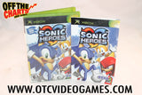 Sonic Heroes Xbox Game Off the Charts