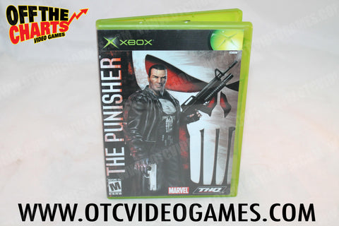 The Punisher Xbox Game Off the Charts