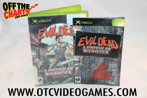 Evil Dead A Fist Full Of Boomstick Xbox Game Off the Charts