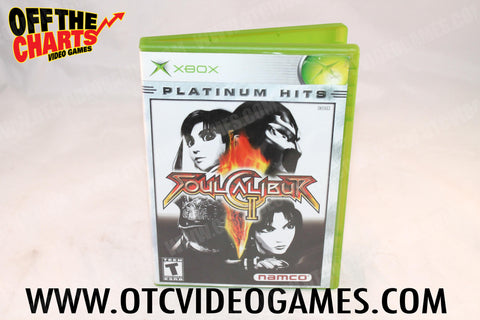 Soul Calibur II Xbox Game Off the Charts