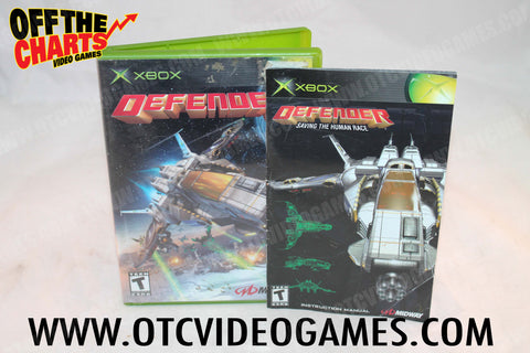 Defender Xbox Game Off the Charts
