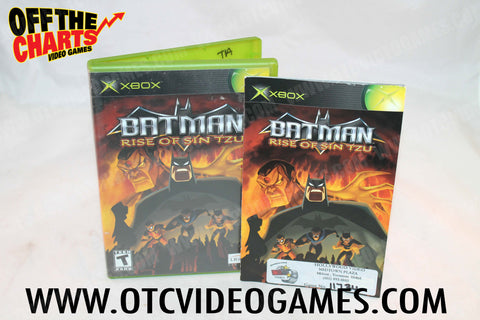 Batman Rize of Sin Tzu - Off the Charts Video Games
