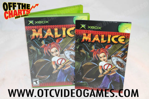 Malice - Off the Charts Video Games