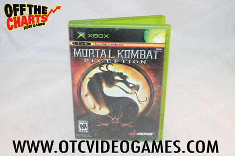 Mortal Kombat Deception - Off the Charts Video Games
