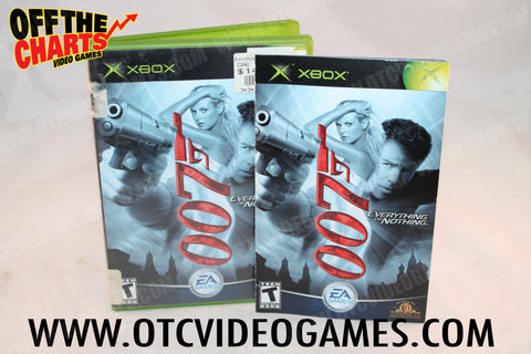 007 Everything or Nothing Xbox Game Off the Charts