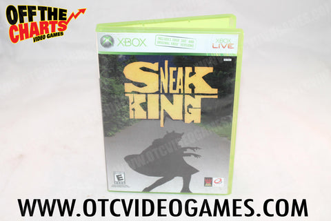 Sneak King Xbox Game Off the Charts