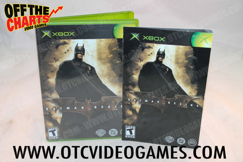 Batman Begins Xbox Game Off the Charts