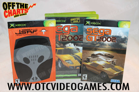 Sega GT 2002 and Jet Set Radio Future Combo Pack Xbox Game Off the Charts