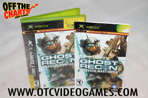Ghost Recon Advanced Warfighter - Off the Charts Video Games