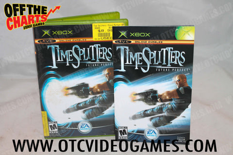 Time Splitters Future Perfect Xbox Game Off the Charts