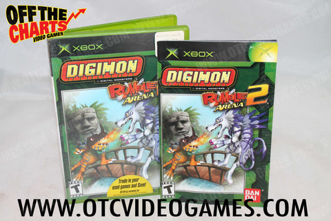 Digimon Rumble Arena 2 Xbox Game Off the Charts