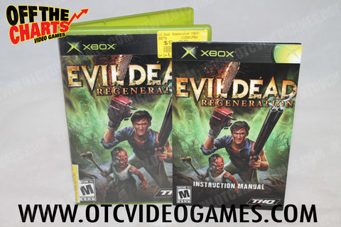 Evil Dead: Regeneration Xbox Game Off the Charts