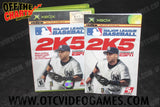 ESPN Major League Baseball 2K5 Xbox Game Off the Charts