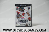 Madden 04 Nintendo Gamecube Game Off the Charts