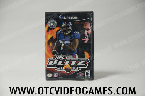 NFL Blitz 2003 Nintendo Gamecube Game Off the Charts