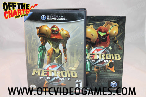 Metroid Prime - Off the Charts Video Games