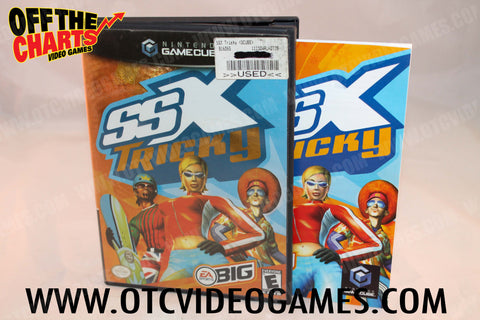 SSX Tricky Nintendo Gamecube Game Off the Charts