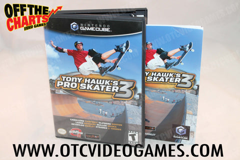 Tony Hawk's Pro Skater 3 Nintendo Gamecube Game Off the Charts