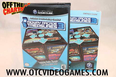 Midway Arcade Treasures 3 - Off the Charts Video Games