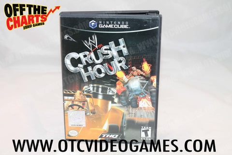 WWE Crush Hour Nintendo Gamecube Game Off the Charts