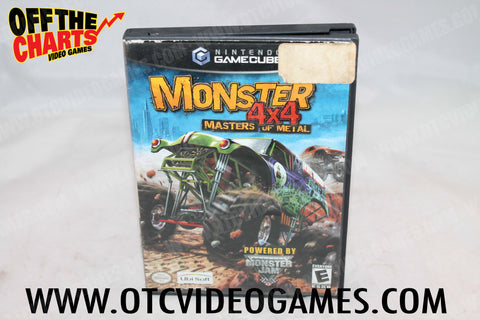 Monster 4x4 Masters of Metal - Off the Charts Video Games