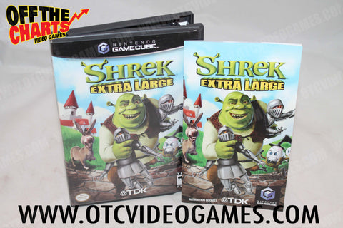 Shrek Extra Large - Off the Charts Video Games