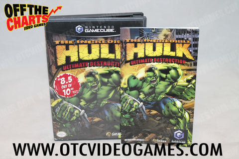 The Incredible Hulk: Ultimate Destruction - Off the Charts Video Games