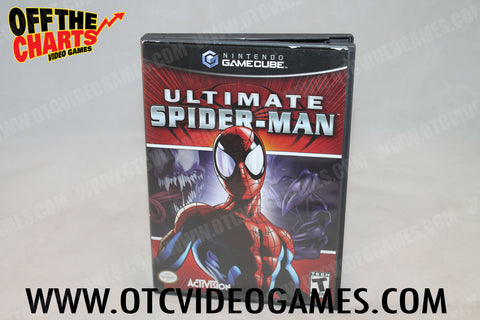 ultimate spiderman game cube