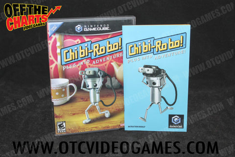 Chibi-Robo! Nintendo Gamecube Game Off the Charts