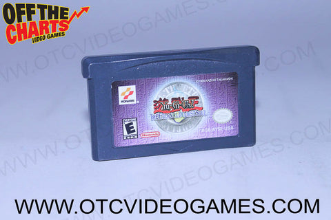 Yu-Gi-Oh The Eternal Duelist Soul Game Boy Advance Game Off the Charts