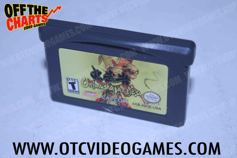 Onimusha Tactics Game Boy Advance Game Off the Charts