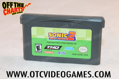 Sonic Advance 2 - Off the Charts Video Games