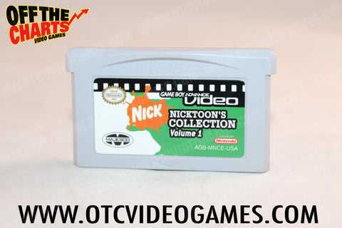 Nicktoons Collection Volume 1 Game Boy Advance Game Off the Charts