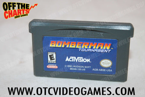 Bomberman Tournament Game Boy Advance Game Off the Charts