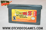 Dragonball Z: The Legacy Of Goku II Game Boy Advance Game Off the Charts