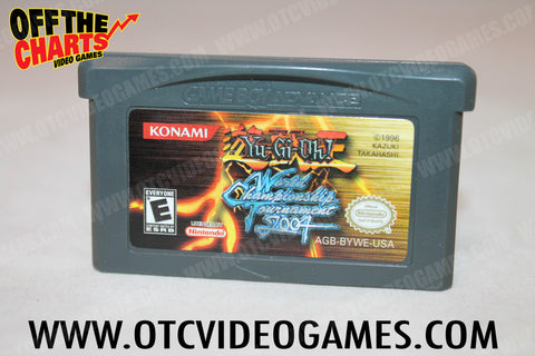 Yu-Gi-Oh! World Championship Tournament 2004 Game Boy Advance Game Off the Charts