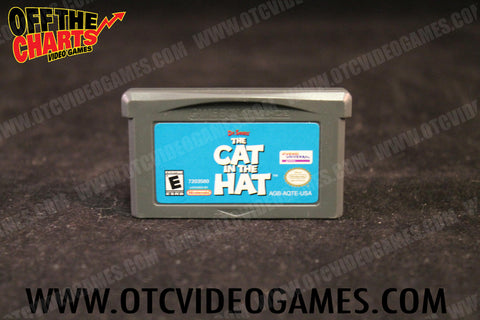 The Cat in the Hat Game Boy Game Off the Charts